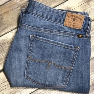 Lucky Brand Jeans Leyla Boot Cut 14 32 x 30 Ankle